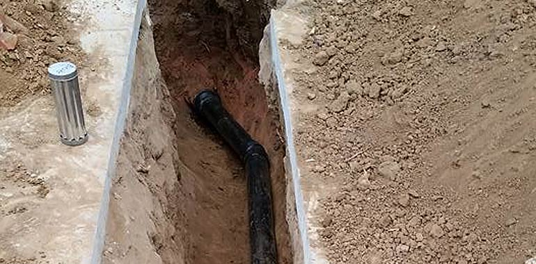 sewer line repair and installation services