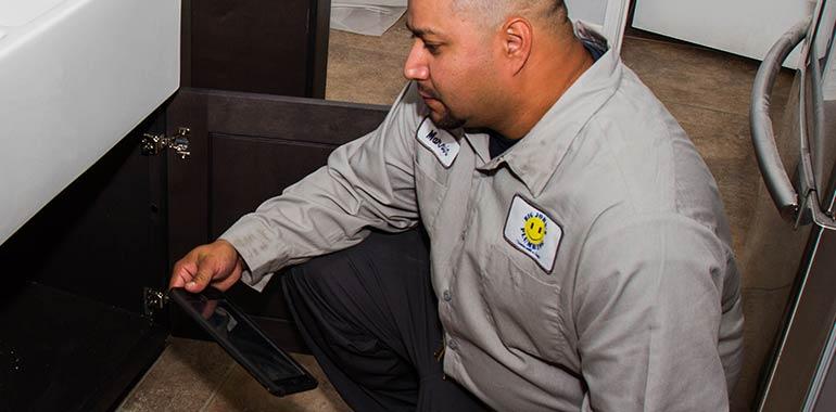 water leak detection service