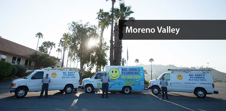 big john's plumbing services in moreno valley