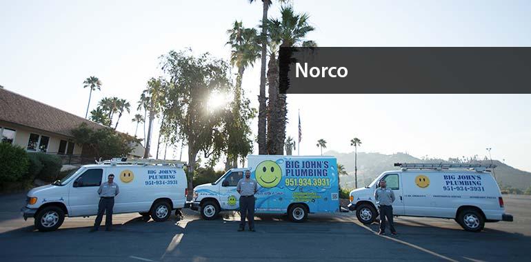big john's plumbing services in norco