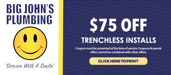 discount on trenchless installations